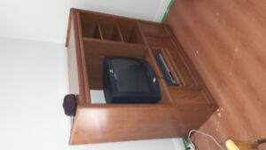 Tv stand with or with free tv/ dvd player