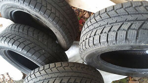 4 Winter tires used 1 winter