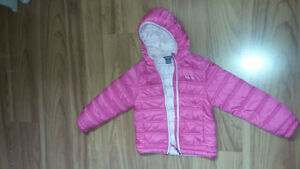 Eddie Bauer Girls' Pink Lightweight Puffer Jacket