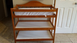 Change Table with Thick Changing Pad