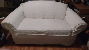 Two loveseat couches - together or separately
