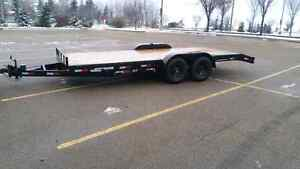 18 feet flat deck trailer