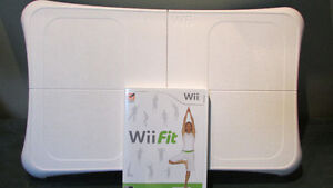 Wii Fit w/ Balance Board, Your Shape (Jenny McCarthy) & Wii Play