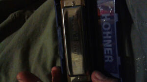 Ms g blues harp by hohner