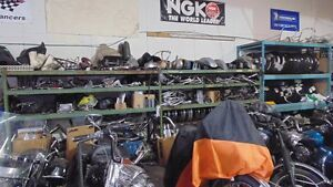 HUGE SELECTION OF USED PARTS FOR HARLEY AND ENGLISH MOTORCYCLES London Ontario image 3