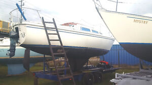 Catalina 27' Sail Boat For Sale