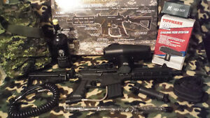 US Army Project Salvo Paintball Marker Gun.