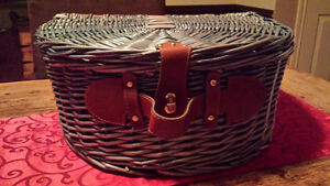 Picnic Basket w/ Accessories