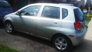 2005 Chevy Aveo Hatchback, Reliable & Fuel Efficient