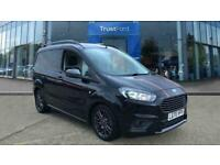 2020 Ford Transit Courier Sport 1.5 TDCi 100ps 6 Speed, 16 inch BLACK ALLOY WHEE