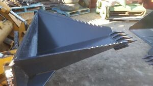 Skid Steer Stump/Rock remover bucket