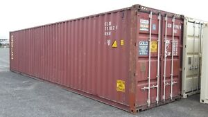 Sea containers for Sale 20 and 40 ft units