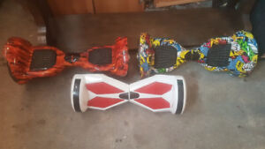 3 HOVER BOARDS!!!!