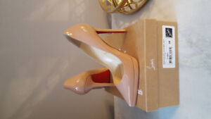 Christian Louboutin Pigalle Plato 120 size 38 - WORN ONCE!