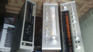 vintage stereo receivers for parts