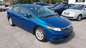 2012 Honda civic EX IN MINT CONDITION ONLY $7995