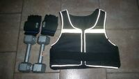 weighted gloves vest dumbbells foam puzzle flooring