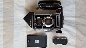 Mamiya C33 with accessories.  (in picture)