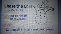 Calling all Knitters and Crocheters!!! Chase the Chill Cambridge