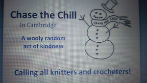 Calling all Knitters and Crocheters!!! Chase the Chill Cambridge Cambridge Kitchener Area image 1
