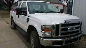 2008 FORD F250 4X4 EXT CAB