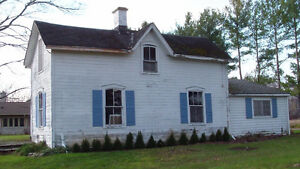 Tearing Down 1700's Farmhouse: Wood Fireplace Mantel Available London Ontario image 2
