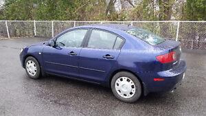 Mazda 3 2004 Berline Bleu indigo