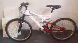 Mongoose Full Suspension Mountain Bike - Youth Sized - 24 Inch
