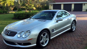 Mercedes-Benz SL500  - Convertible - Diamond Blue - 2004