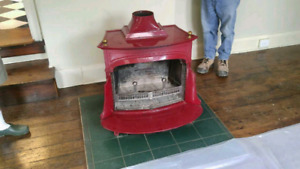 Vermont castings cast iron stove. -Dauntless