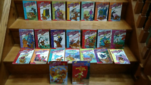 30 Scooby-Doo illustrated chapter books with Mystery Machine boo