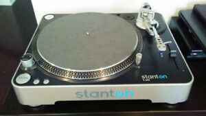 Stanton T 50 stereo turntable record player