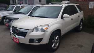 2008 saturn outlook fully loaded safety included