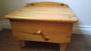 Small pine cabinet