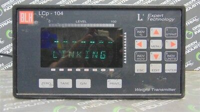 Used Blh Lcp-104 Safe-weigh Weight Transmitter Unit 2-4-1-1-1 Ver. 3.13