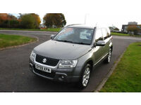 Suzuki Grand Vitara 1.9DDiS SZ5,2009,Alloys,Leather,Air Con.Swiitchable 4x4
