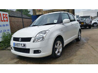 SUZUKI SWIFT 1.5 GLX WHITE MANUAL 5 DOOR PETROL