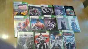 Xbox 360 games and one ps3 game