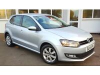 Volkswagen Polo 1.2 TDI MATCH EDITION 75PS (silver) 2014