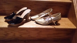 BRAND NEW: BELLY DANCE SHOES, STRAPLESS DRESS SHOES