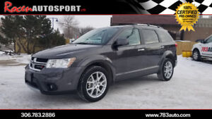 CERTIFIED 2018 DODGE JOURNEY GT AWD -  HTD LEATHER - YORKTON