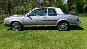 1983 BUICK SKYLARK LIMITED  BUCKET SEAT. CONSOLE. AC. OPTIONS.