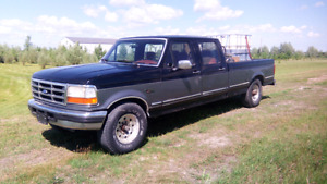 1995 Ford F350. 7.3 L power stroke.  Runs on recycled oil!!!
