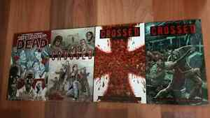Walking Dead volume 1, Crossed Volumes 1, 3 & 6 Windsor Region Ontario image 1