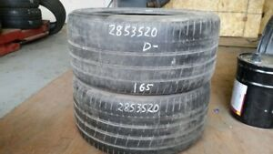 Pair of 2 Pirelli PZero 285/35R20 tires (40% tread life)