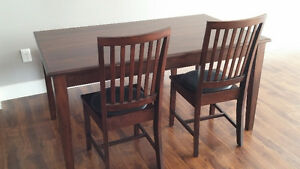 [moving sale] dinner table set.