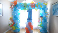 Balloon decoration (starts $35 !)