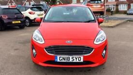 2018 Ford Fiesta 1.1 Zetec 3dr Manual Petrol Hatchback
