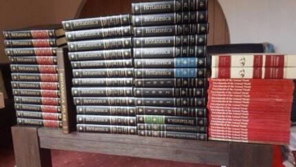 FULL set authentic Britannica Encyclopedias, 62 books! 15th editi