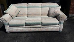 Couch with Matching Love Seat